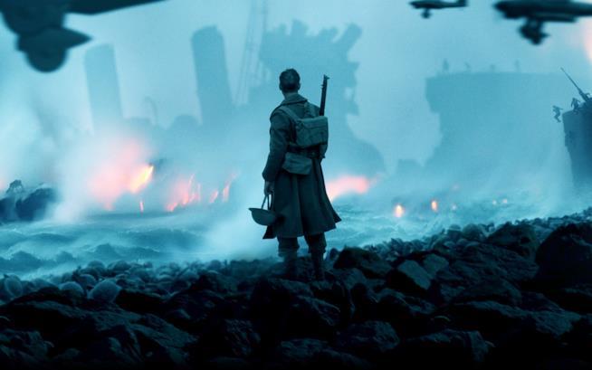 Una scena di Dunkirk