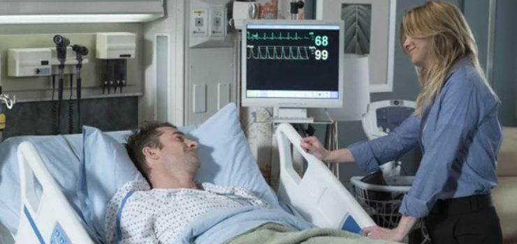 Un'immagine di Nick e Meredith in Grey's Anatomy