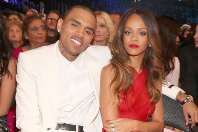 Chris Brown e Rihanna ai tempi della loro storia