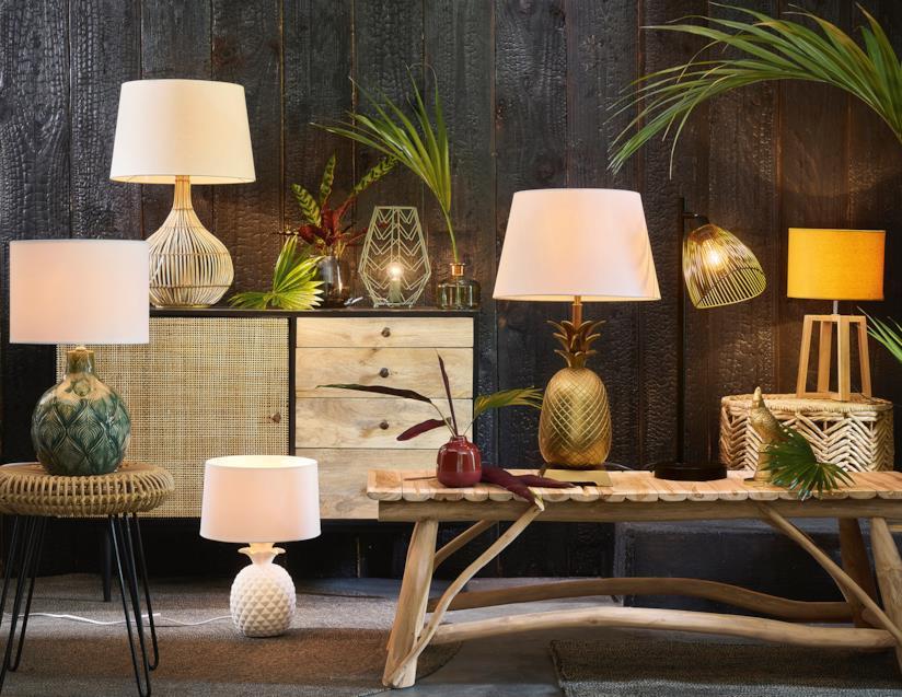 Lampade a forma di ananas Maisons du Monde