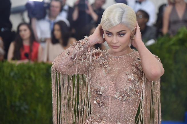 Kylie Jenner sul red carpet