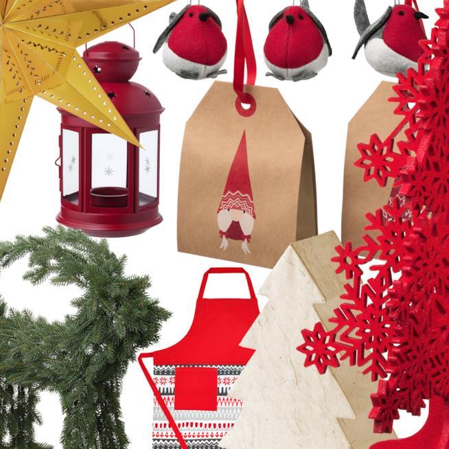 Le decorazioni natalizie low cost di h m zara primark - Ikea addobbi natalizi ...
