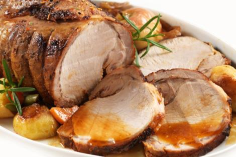 ricetta dell'arrosto di vitello con patate novelle