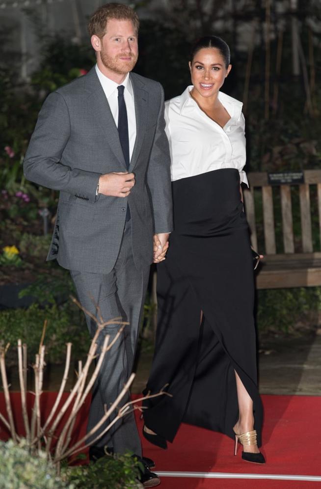 Harry e Meghan a un evento
