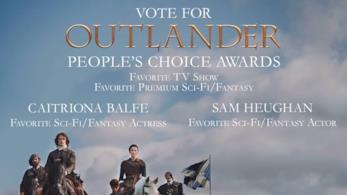 Outlander nominata ai People's Choice Awards come Favourite TV Show