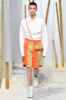 Sfilata FENG CHEN WANG Collezione Uomo Primavera Estate 2020 Londra - CSC_2564