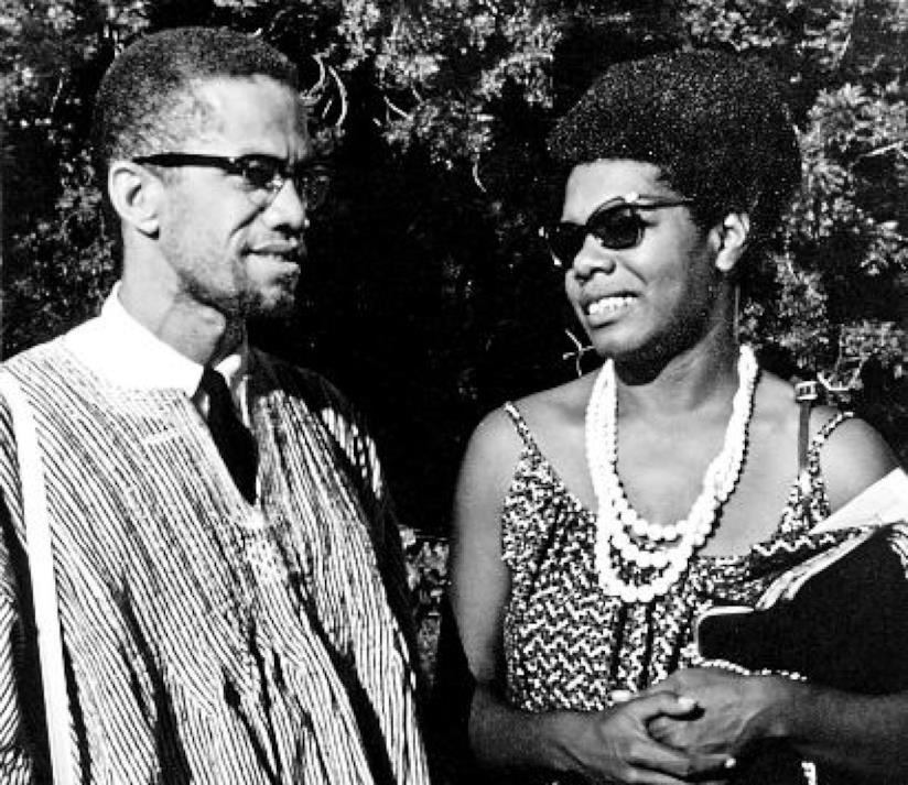 Maya e Malcolm X