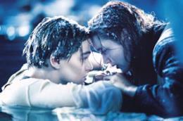 Titanic, Jack e Rose sul relitto