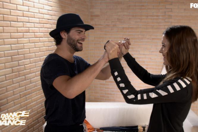 Clara e Diego si danno la carica per la finale