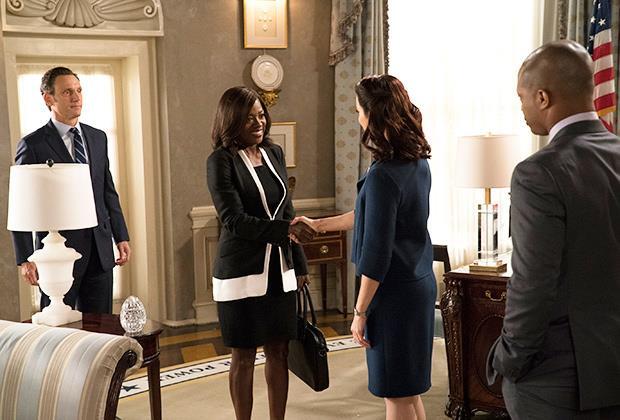Annalise incontra Mellie alla Casa Bianca