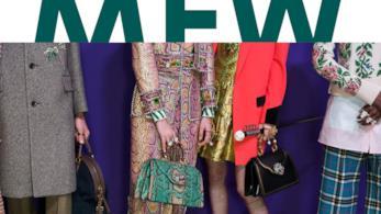 Una delle locandine della Milano Fashion week 2017