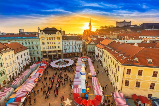 La Piazza Centrale di Bratislava