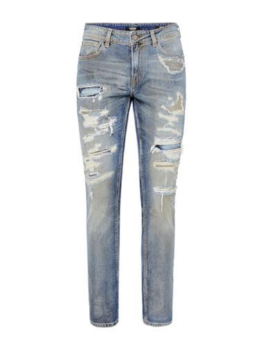 Jeans con strappi frontali