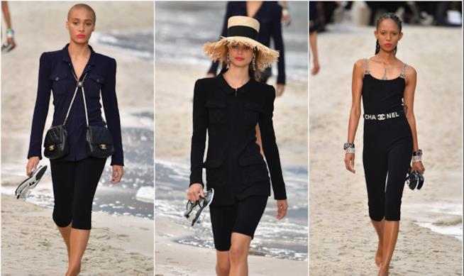 Un momento della sfilata Chanel