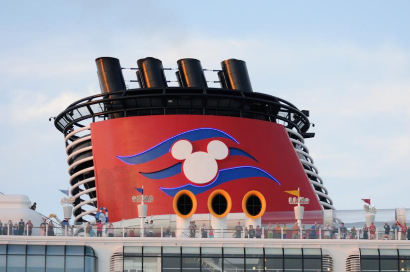 Le ciminiere delle navi Disney