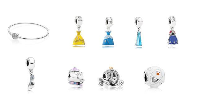 La collezione Pandora per Disney