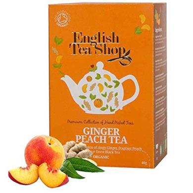 English Tea Shop Ginger Peach Tea