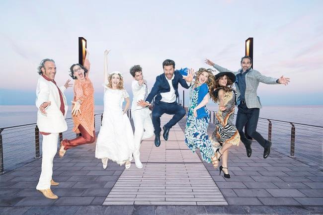 Il musical Mamma Mia! arriva al Sistina di Roma in una versione esplosiva