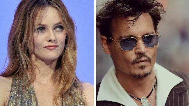 Vanessa Paradis e Johnny Depp su Instagram