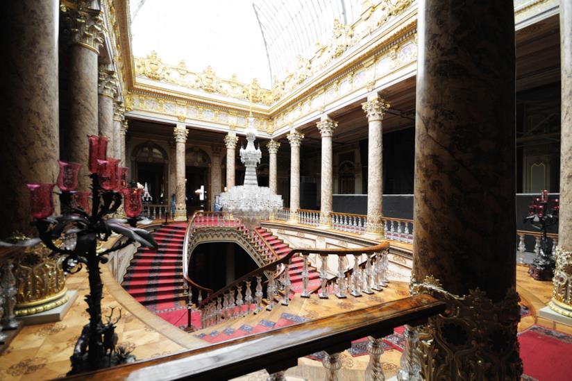 Interno del Palazzo Dolmabahçe