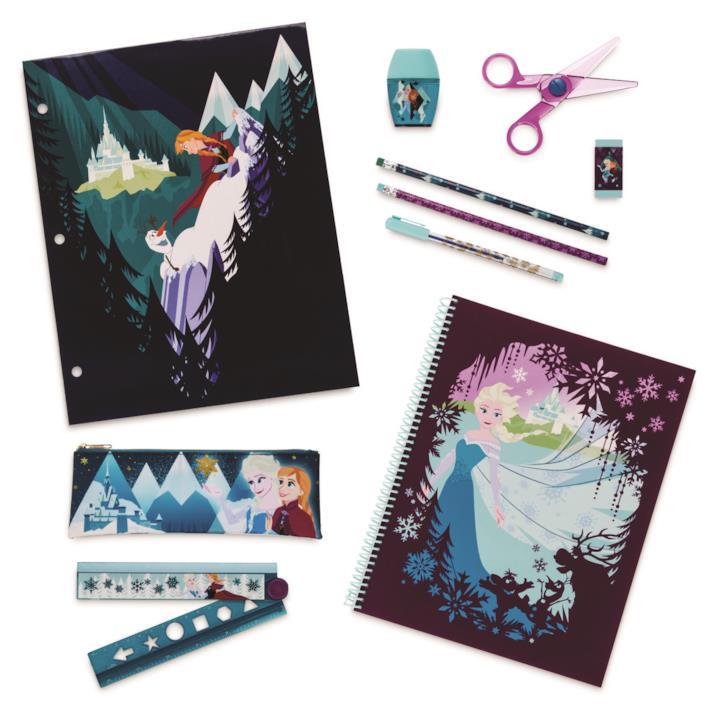 Quaderni e penne di Frozen