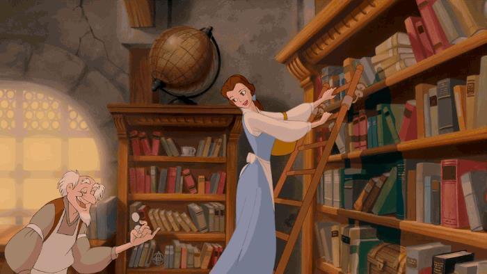 Una scena del Classico Disney La Bella e La Bestia