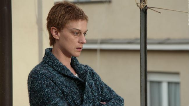 Antonia Liskova nel corto La notte prima
