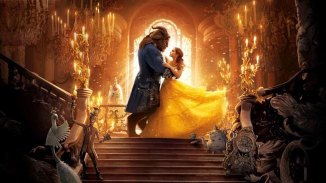 Il poster de La Bella e la Bestia