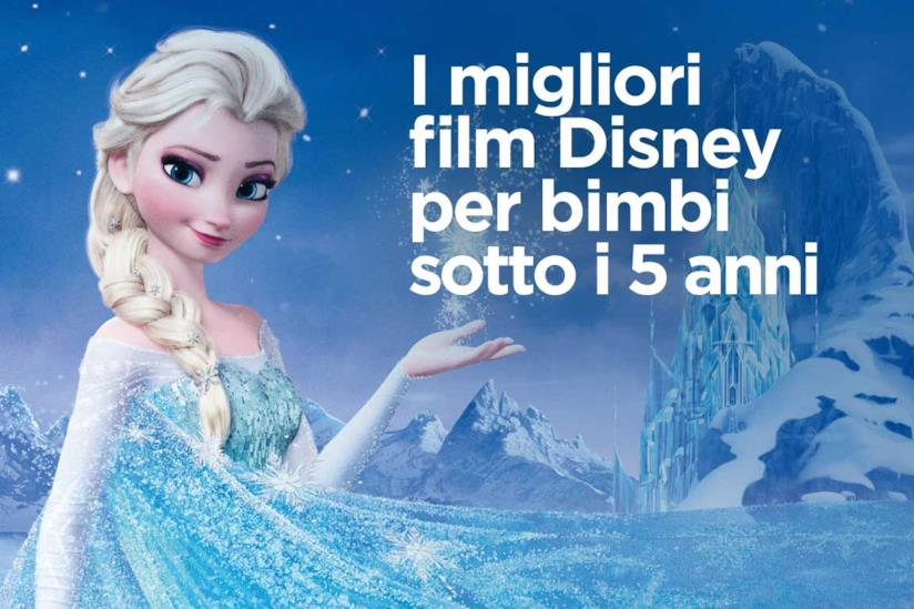 Un'immagine di Elsa in Frozen