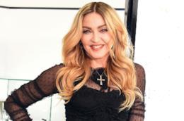 La pop star Madonna