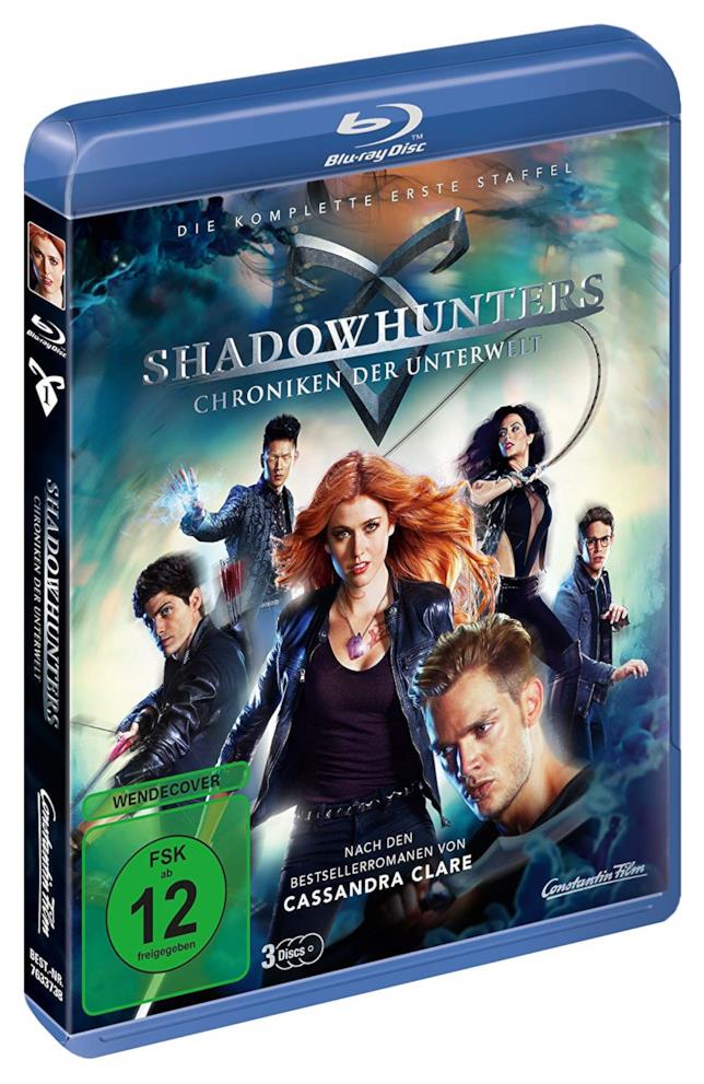Cofanetto Blu-ray di Shadowhunters - Season 1
