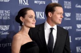 gli attori Angelina Jolie e Brad Pitt