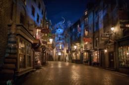La ricostruzione di Diagon Alley