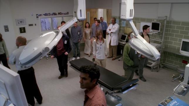 Gli specializzandi nel pilot di Grey's Anatomy