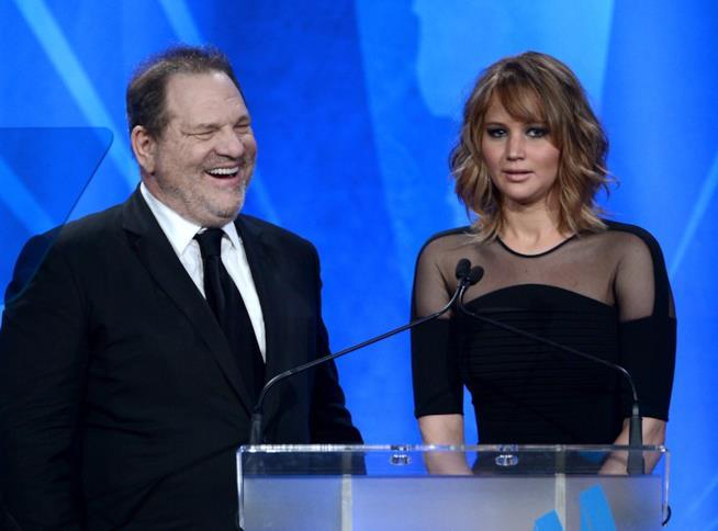 Harvey Weinstein e Jennifer Lawrence