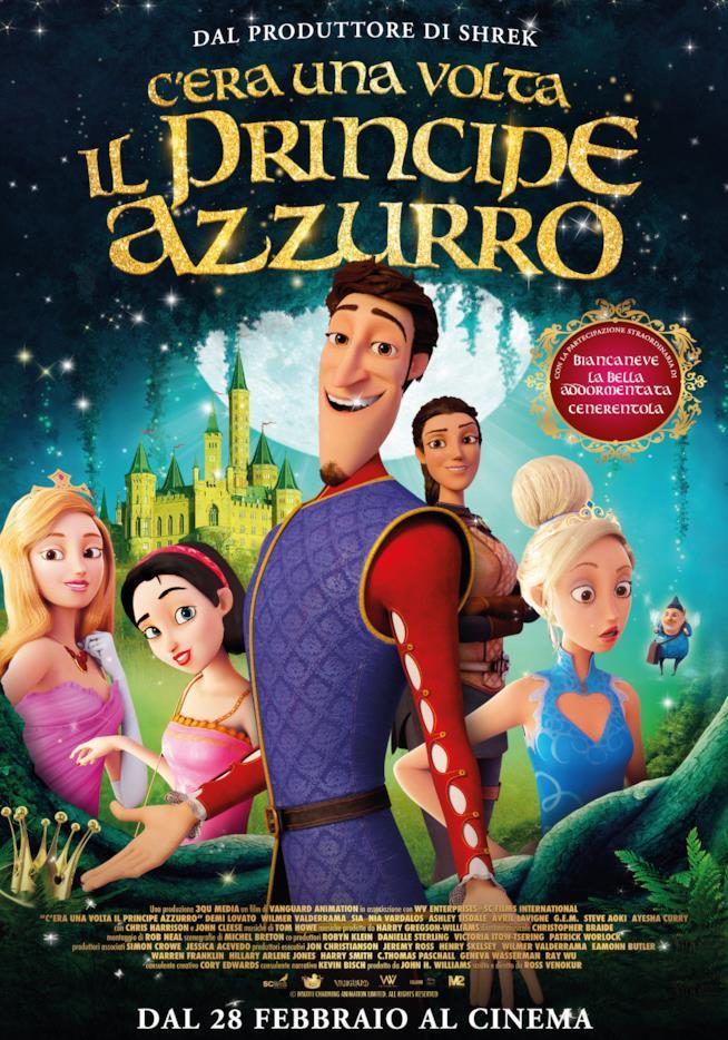 Il poster ufficiale del film C'era una volta il Principe Azzurro