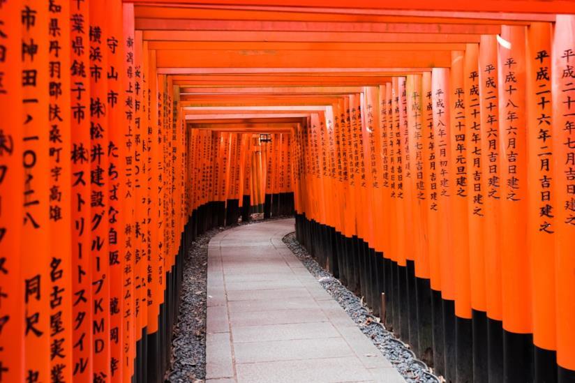 Tempio Fushimi Inari-taisha a Kyoto