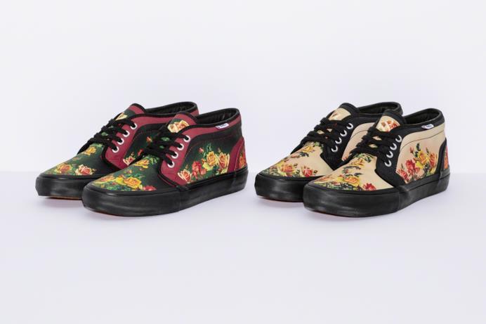 Sneakers Vans Floral Print Chukka Pro Supreme/Gaultier