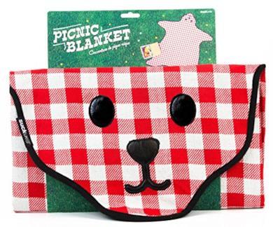 Coperta da picnic a forma di orso