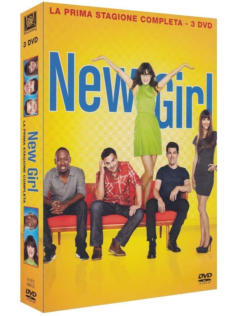 La copertina gialla del DVD di New Girl