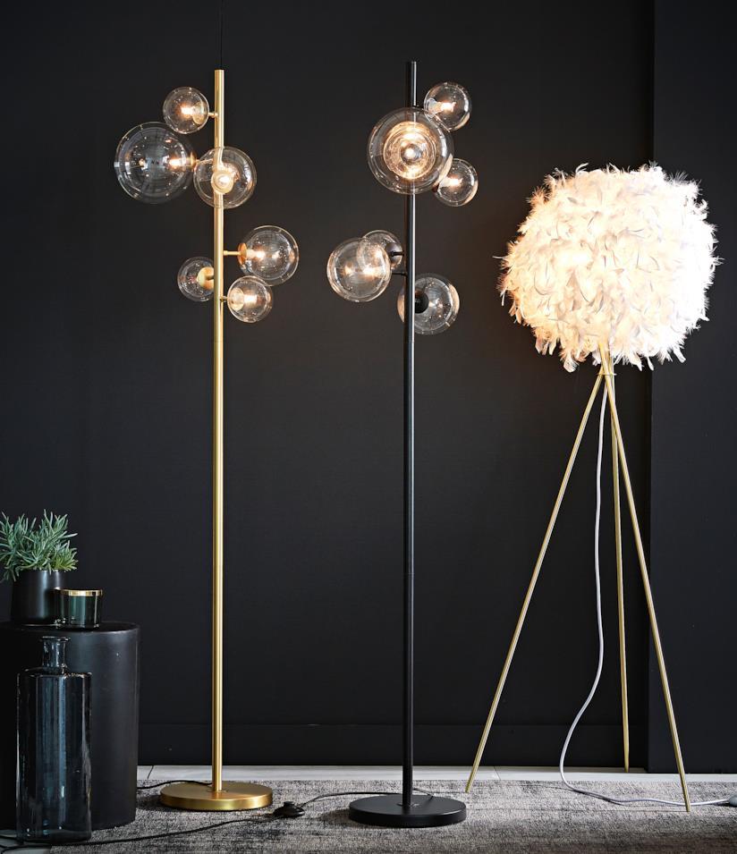 Lampade con lampadine sferiche Maisons du Monde