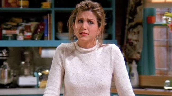 Jennifer Aniston in una scena di Friends