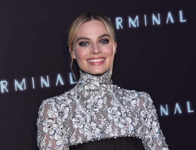 L'attrice australiana Margot Robbie