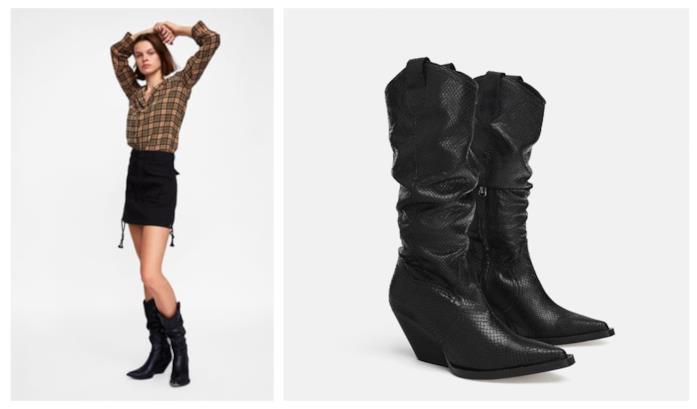Stivali di tendenza folk da cowboy per l'autunno 2018