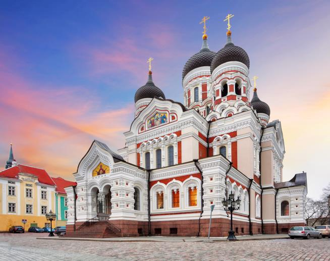 La Cattedrale di Aleksandr Nevskij a Tallinn