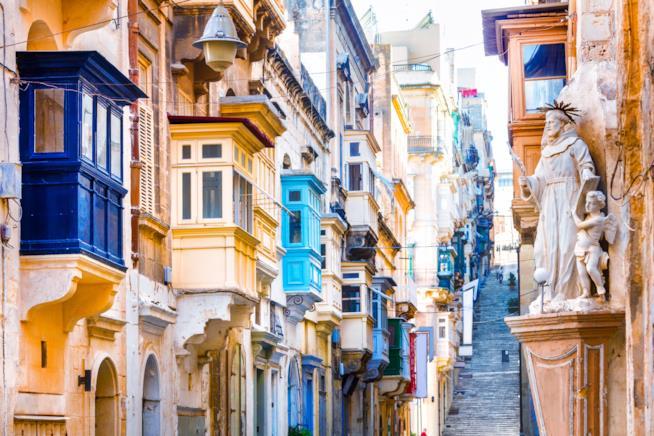 Nel cuore de La Valletta
