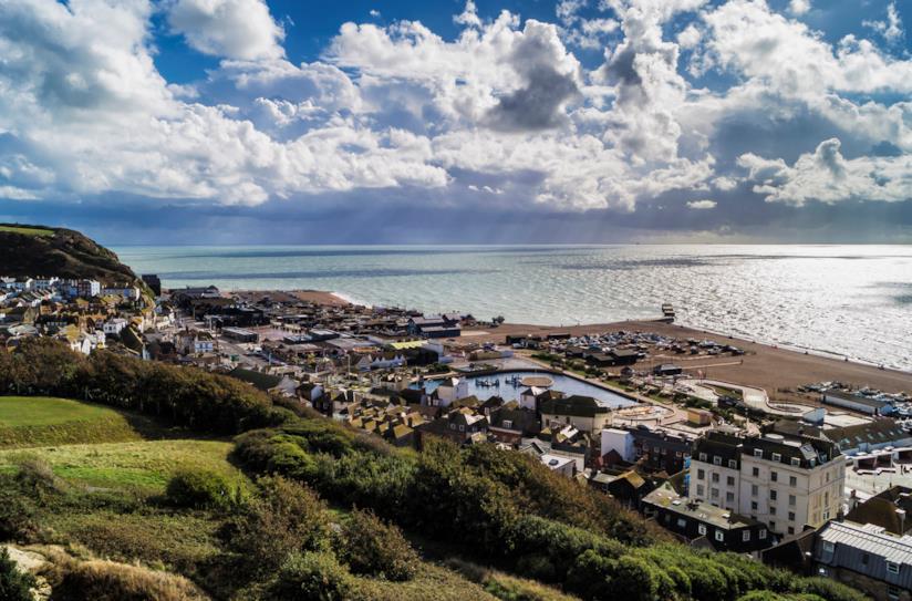 Panorama di Hastings