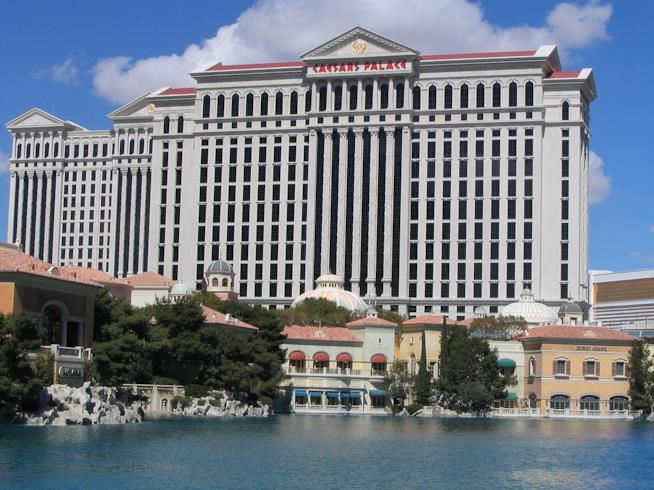 Caesars Palace, Las Vegas - Una Notte da Leoni