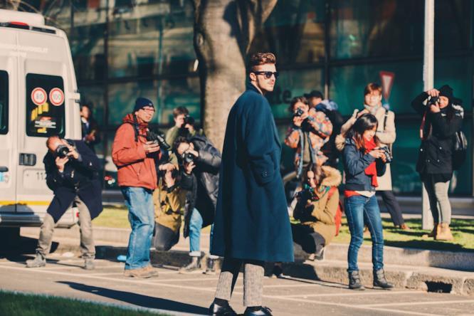 Il fashion blogger e influencer Gian Maria Sainato