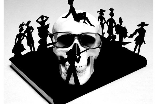 Guccione skulls - Yves Saint Laurent